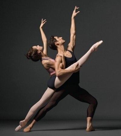 Ballet: No, New York City, Ballerina, Of Two, Photo