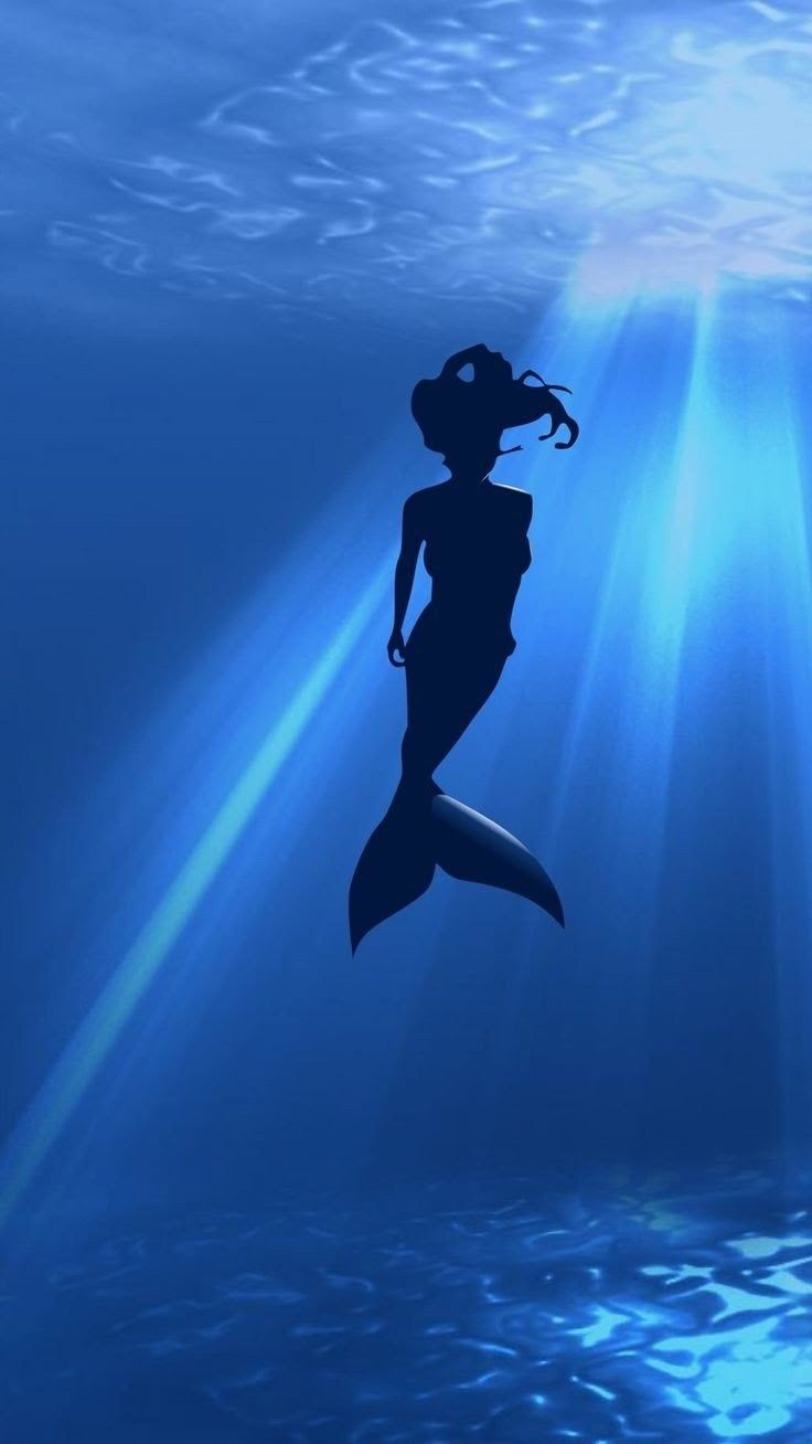 Pin By Lenore Uys On Paper Little Mermaid Wallpaper Mermaid Wallpaper Iphone Mermaid Wallpapers Anime mermaid iphone wallpaper