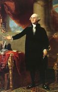 George Washington (The Landsdowne Portrait)  by Gilbert Stuart