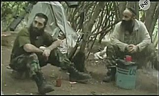 """On August 25th, 2004, members of the gang that plotted to seize the school in Beslan started gathering in the woods near the Psedakh village, Ingushetia (roughly 30 km away from Beslan). The gang was led by a 31-year old Ingush - Ruslan Khuchbarov also known as """"Polkovnik"""" (""""The Colonel"""") and """"Rasul"""". Khuchbarov reported to Shamil Basayev - a well-known terrorist on mission to turn Russian North Caucasus into an independent Islamic state.Basayev (right) and Khuchbarov at the terrorists'…"""