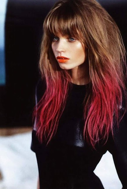 Tip dyed hair... REALLY wanting to do this!