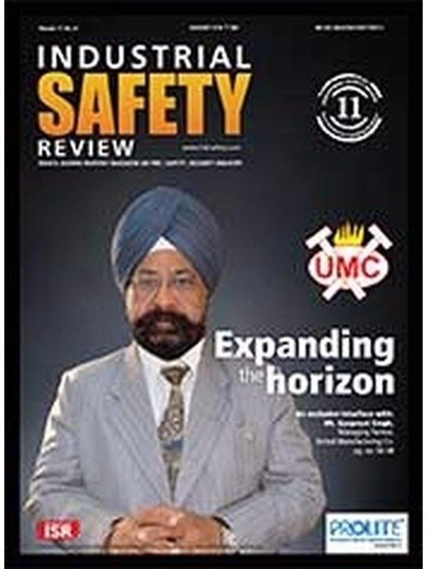 Industrial Safety Review February 2016 Issue- United Manufacturing Co. :Expanding the horizon    Mr. Gurpreet Singh    Manufacturing of Loom and Auto Parts.  #IndustrialSafetyReview #Manufacturing #Looms #AutoParts #ebuildin