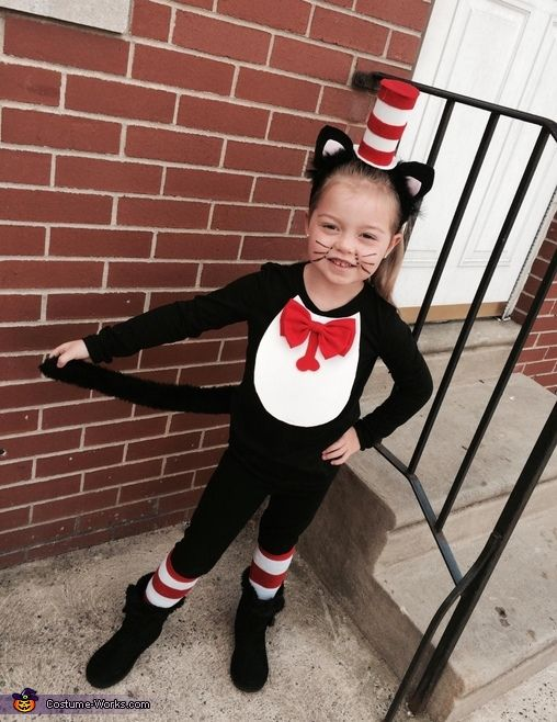 the cat in the hat 2014 halloween costume contest via costume_works - Cat In The Hat Halloween Costume Ideas