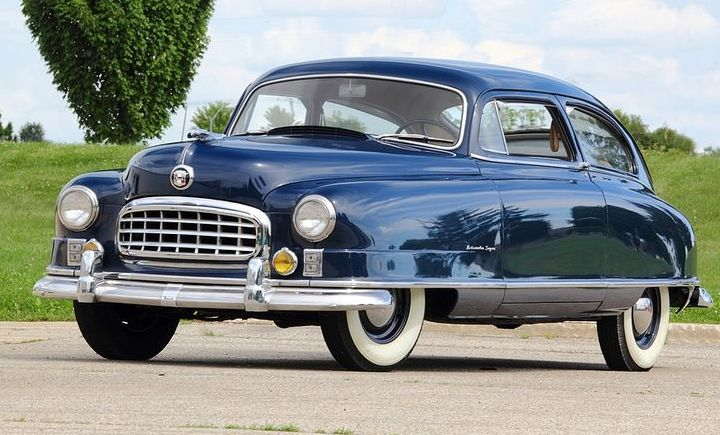 1950 Nash Ambassador Super Sedan