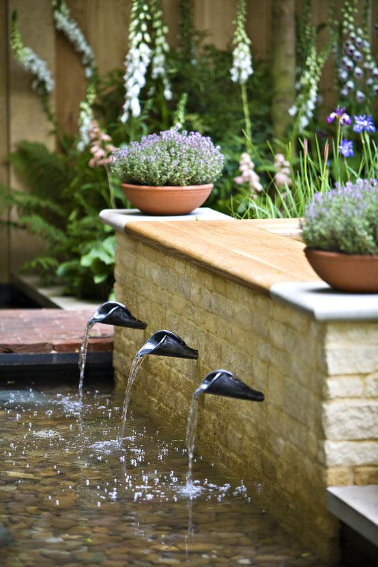 44 best Fountains and Spouts images on Pinterest Wall fountains