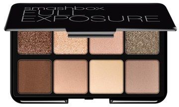 Perfect your eyes with Smashbox Full Exposure Travel Eyeshadow Palette featuring eight must-have neutral eyeshadows that range from nudes to blacks with long-wearing finishes from shimmery to smooth mattes.
