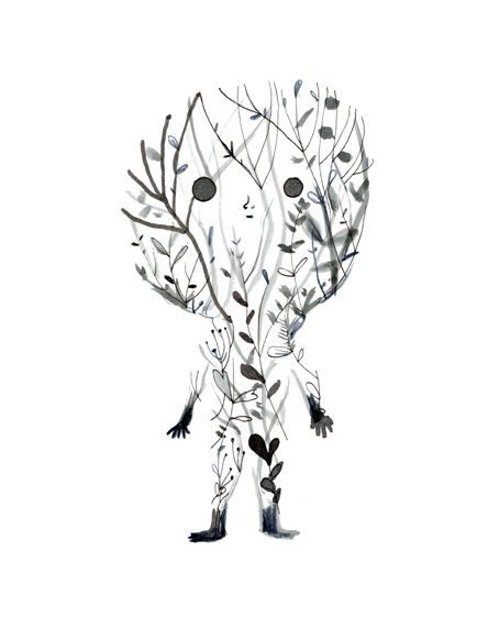 El espíritu del bosque. The spirit of the woods. der Geist des Waldes. Adolfo Serra