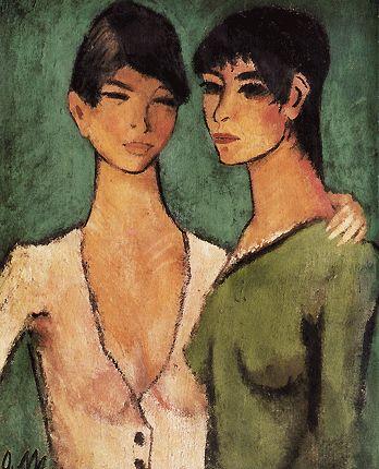 Deux sœurs, vers 1920, Otto Muller Expressionnisme Expression est le contraire d'impression… L'expressionnisme est un mouvement inverse, de l'intérieur vers l'extérieur : c'est le sujet qu'imprime sa marque sur l'objet.»L'expressionnisme, mouvement culturel et artistique de la fin du XIXe siècle à 1925, fortement individualiste, où les artistes expriment leur émotion et leur subjectivité. Cette tendance artistique n'est cependant pas nouvelle dans l'histoire de l'art. Elle fait…