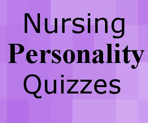 What nursing personality type are you? Find out below using our free personality quizzes/tests. You can discover what your 4 letter personality type is, and what areas of nursing you may enjoy. We ...