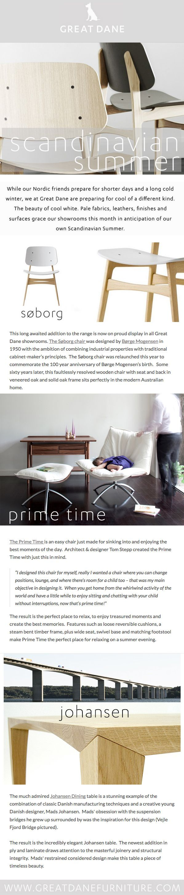 Introducing The Soborg Chair by Borge Mogensen.