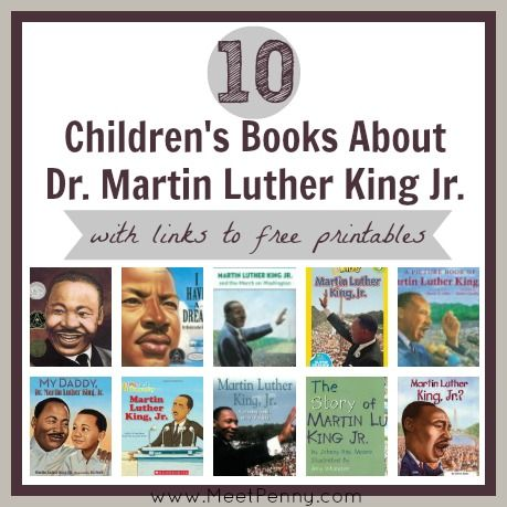 Martin luther king jr children's book online