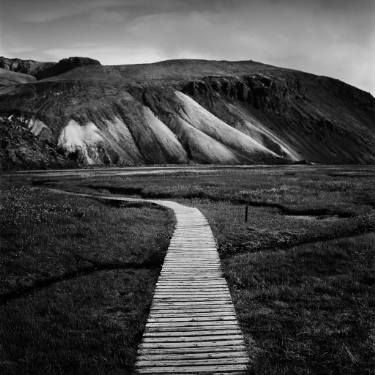 "Saatchi Art Artist Marcin Zuberek; Photography, ""Landmannalaugar Path from the series: Strong Currents - Iceland 
