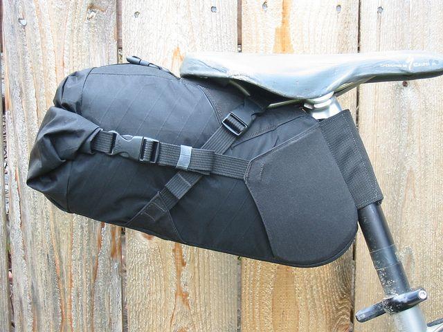 medium bag mounted by Bolder Bikepacking Gear, via Flickr