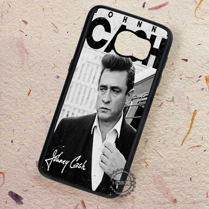 Johny Cash - Samsung Galaxy S7 S6 S5 Note 7 Cases & Covers