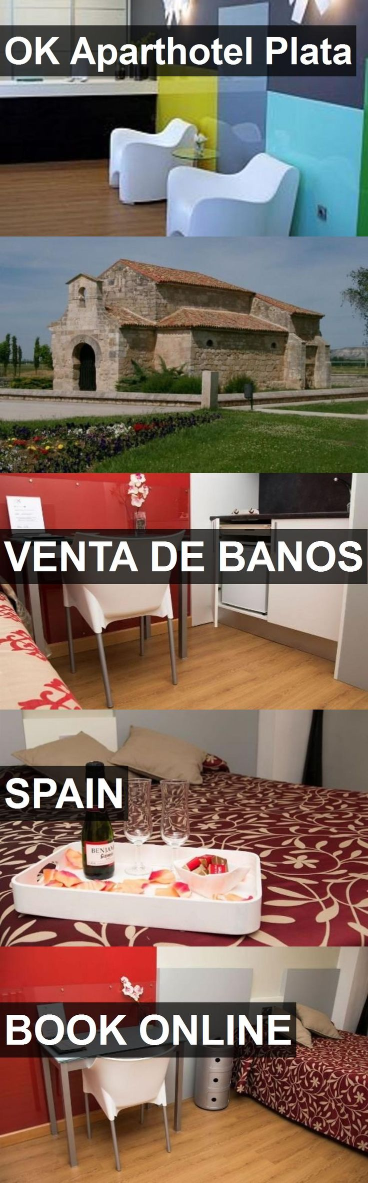 Hotel OK Aparthotel Plata in Venta de Banos, Spain. For more information, photos, reviews and best prices please follow the link. #Spain #VentadeBanos #hotel #travel #vacation