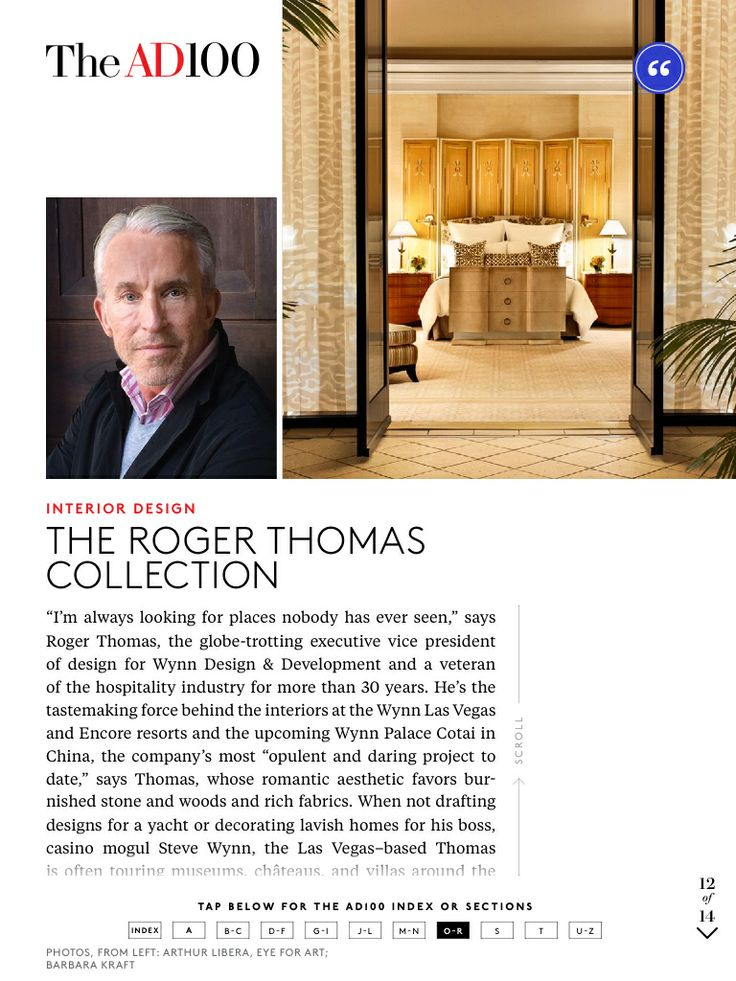 1000 images about roger thomas on pinterest wynn las for Wynn design and development las vegas