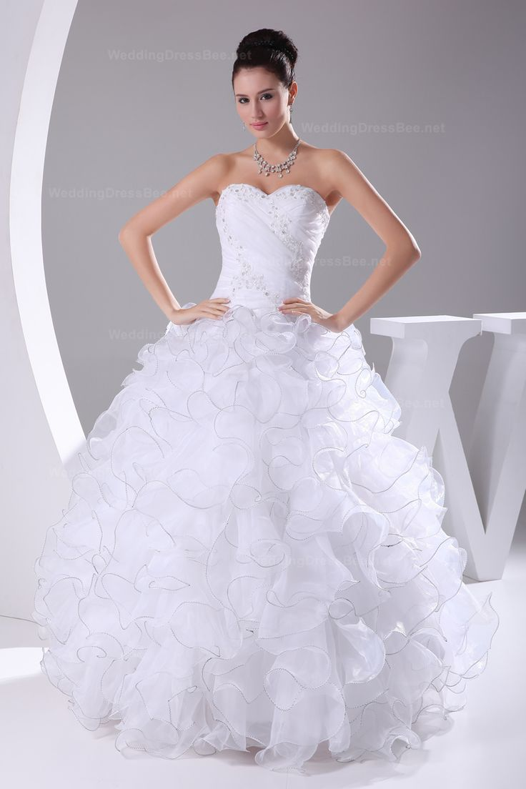 This is a very good wedding dress