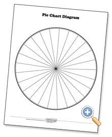 Pie Chart - WorksheetWorks.com