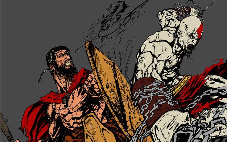Ilustración 300 - espartanos