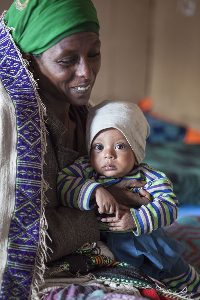 World Vision have set up Stabilisation Centres with the Government of Ethiopia to treat malnourished and sick children affected by the drought in Ethiopia.