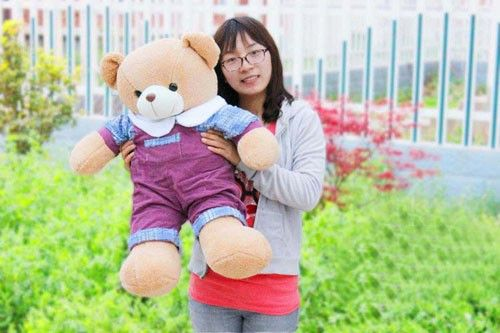 Large-size Soft Plush Teddy Bear for Lovers and Dear Friendsat EVToys.com