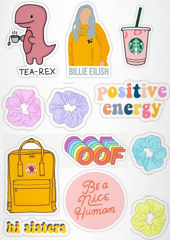 Pin by CraftyGirl on vsco Phone Case | Aesthetic stickers ...