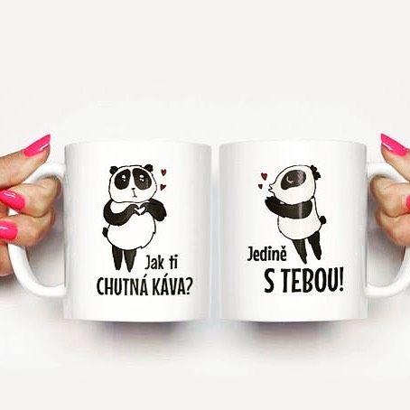 S někým prostě chutná káva ještě více  Přejeme pohodový začátek týdne ☕ #sloktepo #motivacni #hrnky #miluji #kafe #citaty #zivot #mujzivot #mojevolba #mugs #cups #porcelain #pozitivnimysleni #darek #dokonalost #dobranalada #rodina #stesti #laska #domov #cool #panda #czech #czechboy #czechgirl #prague #novinka #loveit