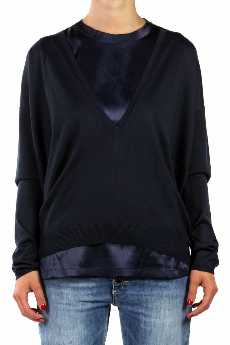 JUMPER+TOP IN CASHMERE AND SILK