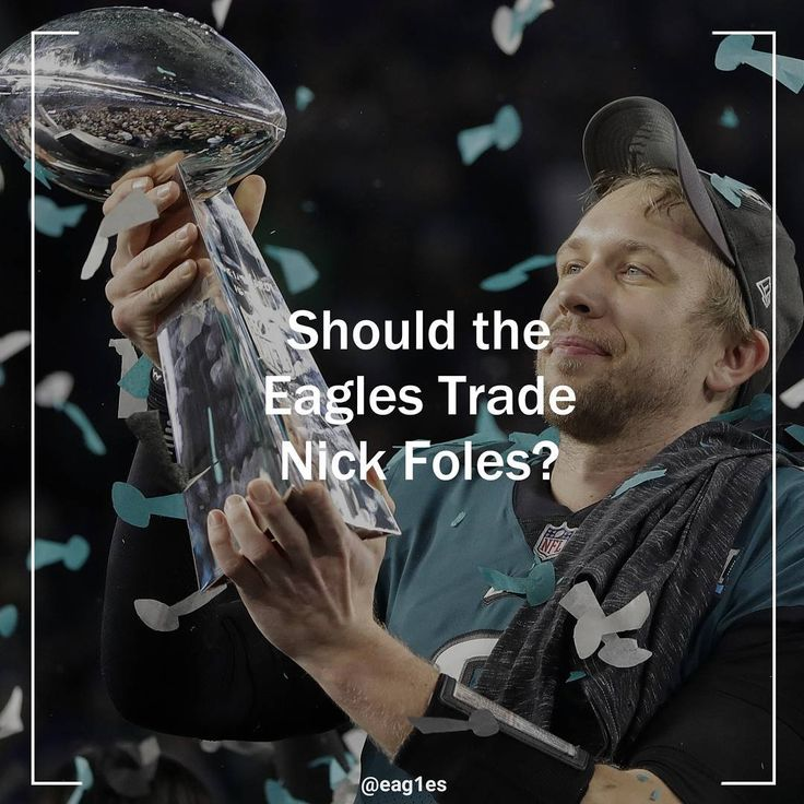 READ WHOLE THING: It seems to be a very popular opinion among Eagles fans to want to keep Nick Foles for the 2018-2019 season. While it is understandable to want to keep the Super Bowl MVP Quarterback it would benefit this team greatly to trade him to another team. Before you immediately thrash my opinion in the comment section lets set the scene:  According to OverTheCap.com the Eagles are currently heading into the offseason with $-9.4 million in cap space. This is the worst of any NFL…