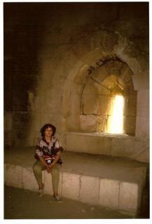 Siria - Safita - Nella torre dei Cavalieri Templari - agosto 1993