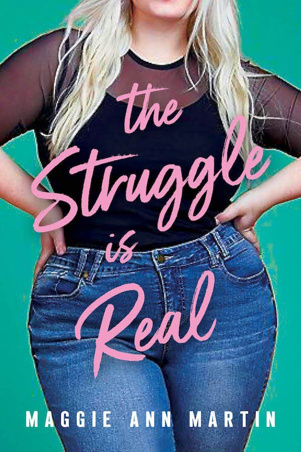 And the winning cover for THE STRUGGLE