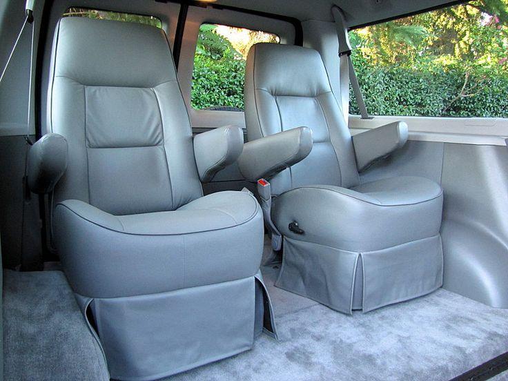Rear Captain Seats Chevy Conversion Van