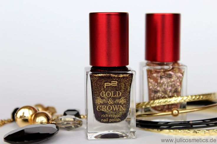 JuliCosmetics: p2 Gold & Crown LE // Review