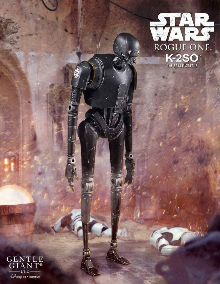 Gentle Giant Rogue One: A Star Wars Story K-2SO 1/6 Scale Statue - HOT TOY REPORT
