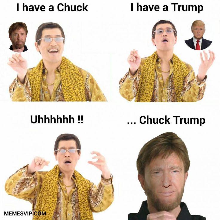Chuck Norris Donald Trump meme
