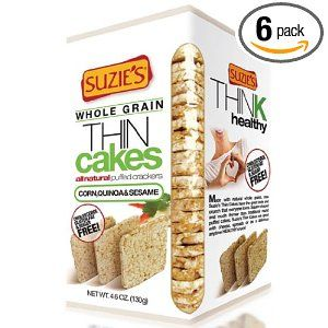 Suzies Thin Cakes Corn