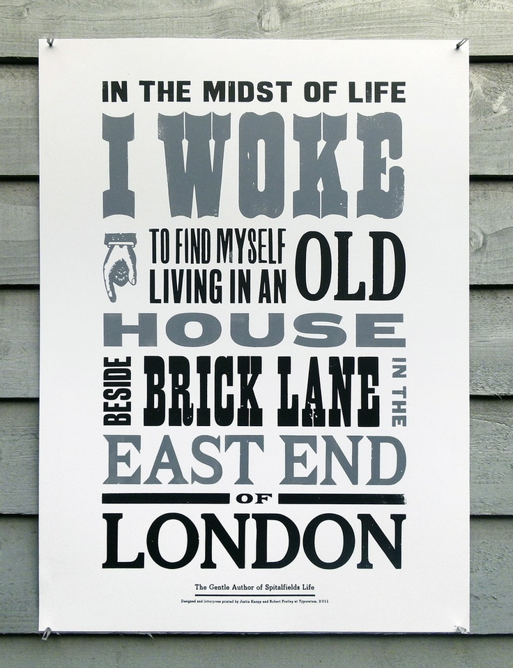 In the midst of life I woke to find myself living in an old house beside Brick Lane in the East End of London