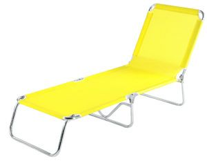 Heavy Duty Outdoor Chaise Lounge Chair