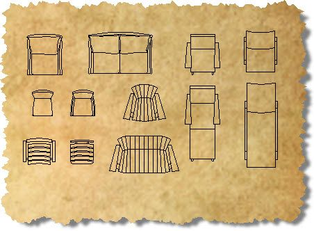 Outdoor Cad Furniture Blocks Autocad Outdoor Furniture