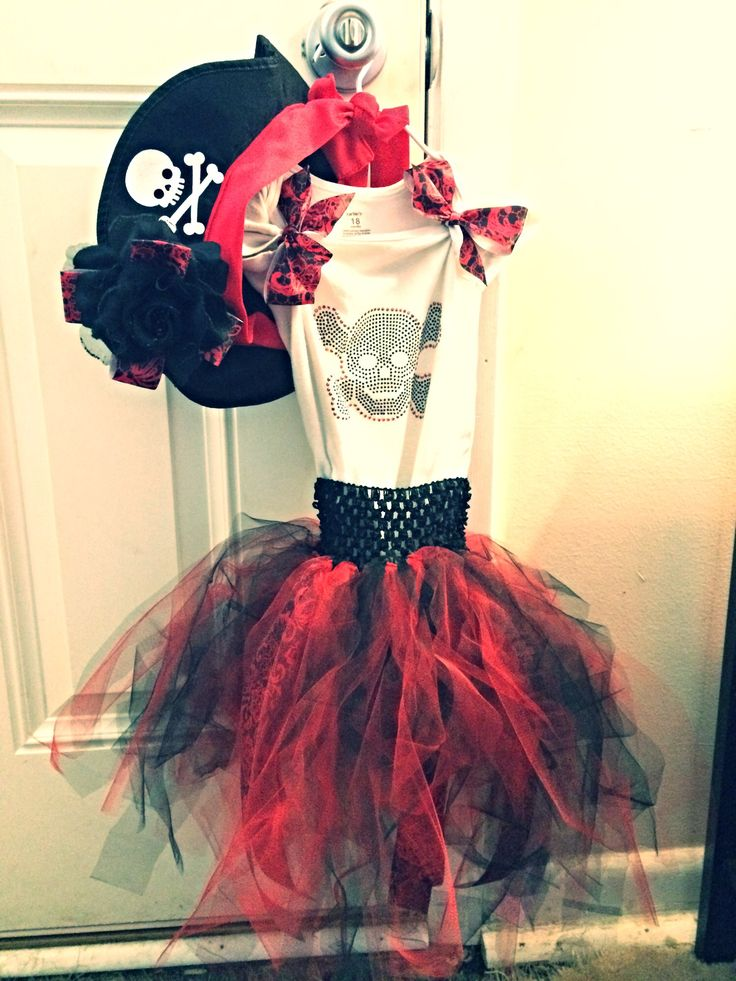 Little girls pirate costume | Things i've done | Pinterest ...