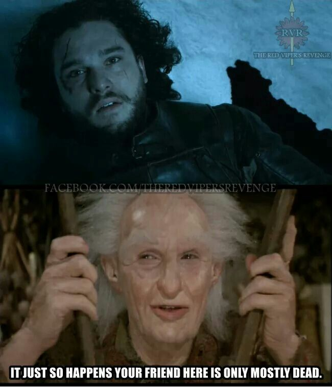 I greatly prefer Miracle Max to Melisandre. Just saying.