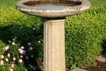 DIY Bird Bath heater:  A bird bath heater can be necessary in colder climates during the winter months to keep the bird bath water from freezing over. Although birds have a natural decrease in their need for water consumption during this time, many people still like to have the water out in the yard for the birds. It is recommended, though, that a few sticks be laid...