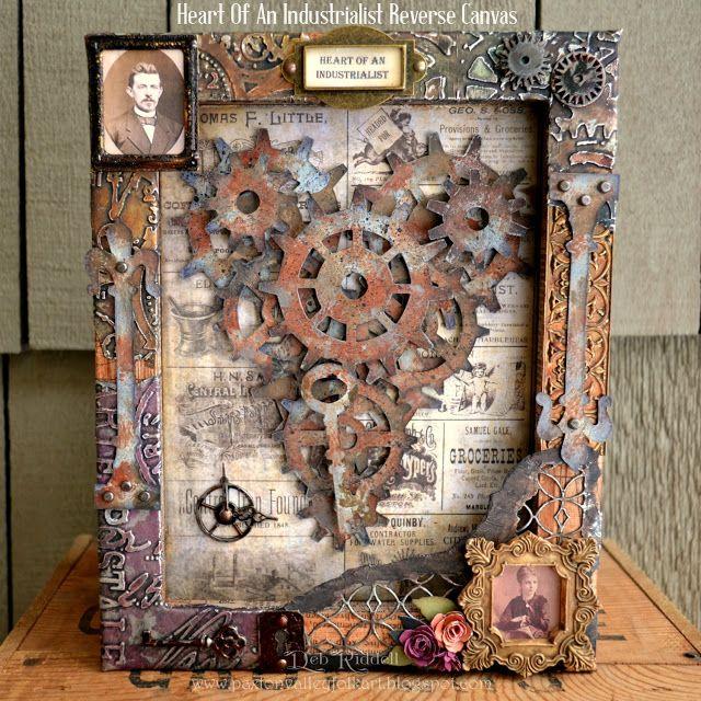 Paxton Valley Folk Art: Heart Of An Industrialist