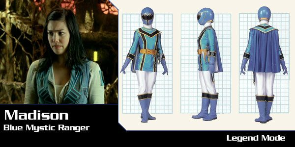 Madison Rocca (Blue Mystic Ranger) - Power Rangers Mystic Force | Power Rangers Central