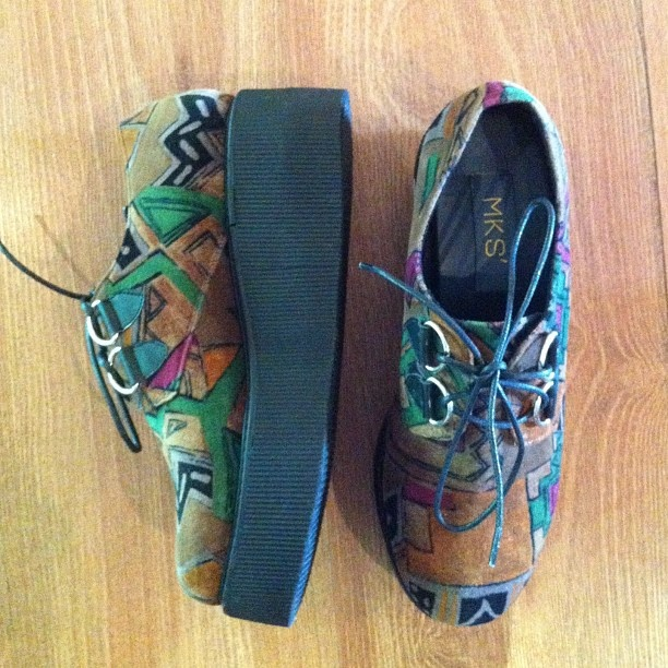 .Grab it fast high lander aztec by @mksshoes available in our store