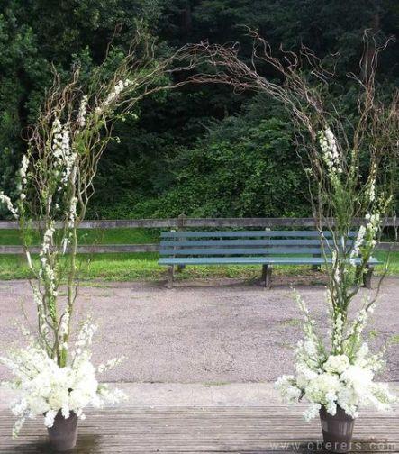 Best wedding arch branches decor ideas