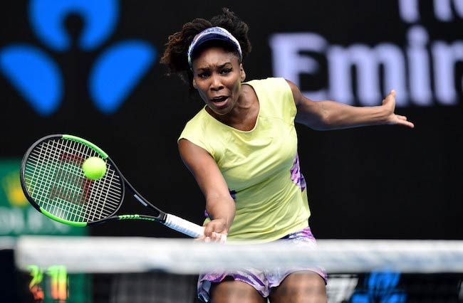 Venus Williams at R2, Rod Laver Arena as seen on January 18, 2017...