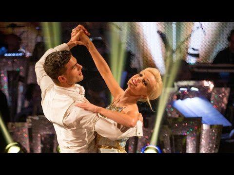 Helen George and Aljaz Skorjanec Viennese Waltz to 'At Last' - Strictly Come Dancing: 2015