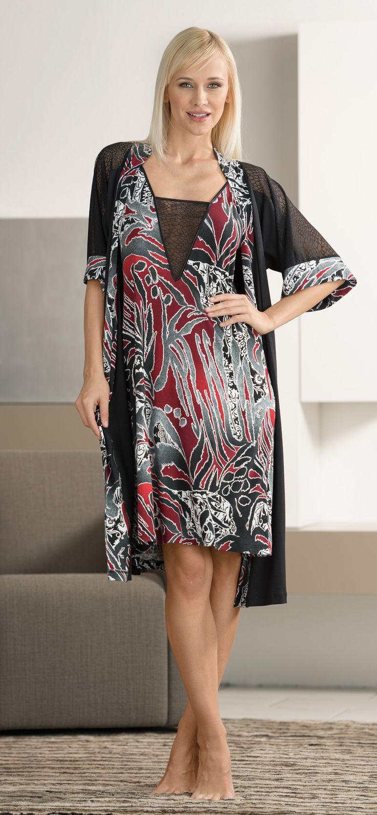 IRIS Jaro-Léto 2015 | Noční prádlo | Noční košile | Župan | Nightwear | Nightdress | Dressing gown | www.naturana-plavky-pradlo.cz
