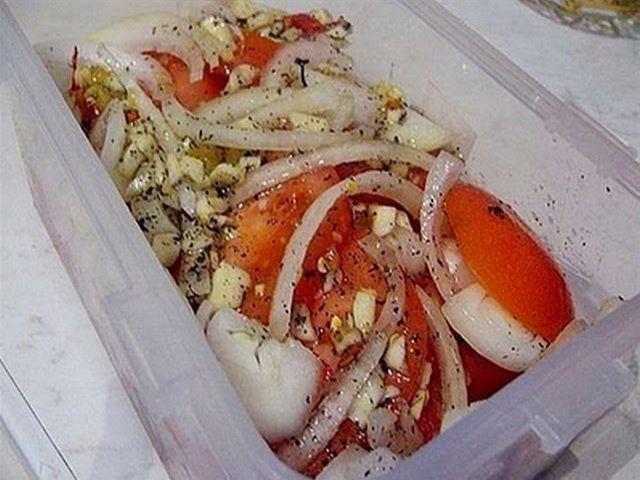 Вкусная маринованная закуска из овощей - ПАЛЬЧИКИ ОБЛИЖЕШЬ. Вкуснотища необыкновенная!